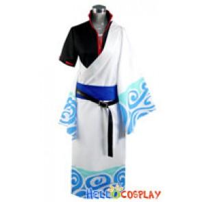 Gintama Cosplay Sakata Gintoki Costume Kimono