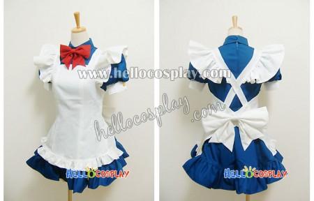 Battle Vixens Ikkitosen Cosplay Ryomou Shimei Maid Dress