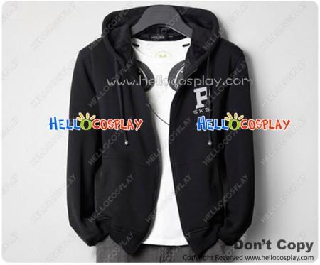 Assassins Creed Cosplay One Piece Plus Velvet Jacket Black