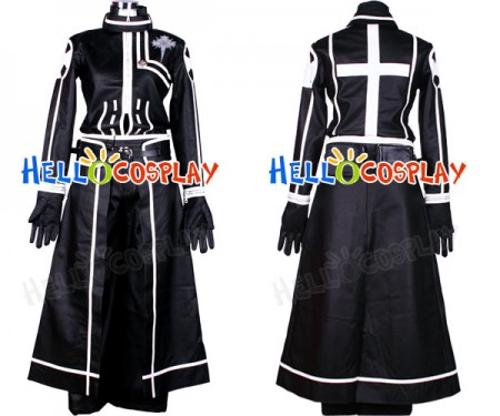 D.Gray-man Yu Kanda Cosplay Costume