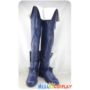 Fire Emblem Cosplay Shoes Lucina Blue Long Boots