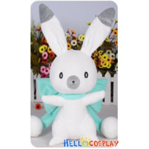 Vocaloid Cosplay 2014 Snow Miku Cute Rabbit Green Ver Plush Doll