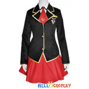 Baka to Test to Shokanju Cosplay Fumizuki Academy Girl Uniform