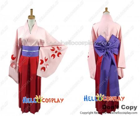 Sakura Wars Cosplay Shinguji Sakura Costume Kimono