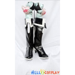Vocaloid 2 Black Rock Shooter Shoes Miku Boots