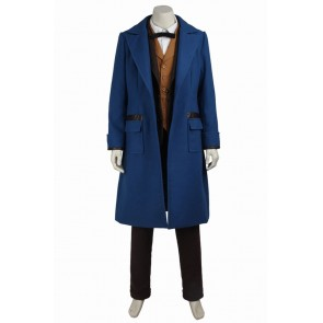 Fantastic Beasts and Where to Find Them Newt Scamander Cosplay Costume