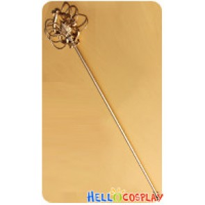 ZONE 00 Cosplay Bishamon Staff Stick Weapon Prop