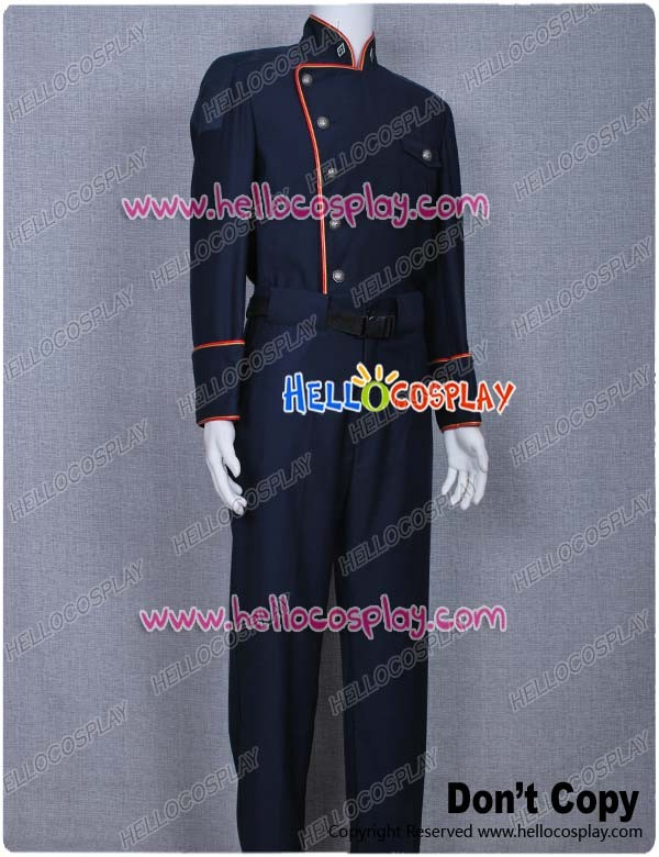 Battlestar Galactica 1978 Cosplay Galactica Costume Uniform Top Pants Jacket