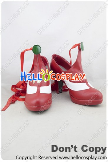 Tales Of Zestiria Cosplay Shoes Lailah Shoes Red