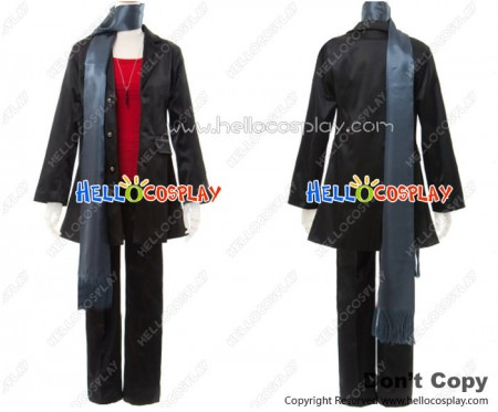 Lucky Dog 1 Cosplay Giulio Di Bondone Suit Costume Gray Scarf Ver