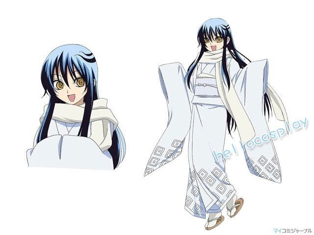 Nura Rise Of The Yokai Clan Cosplay Yuki Onna Costume