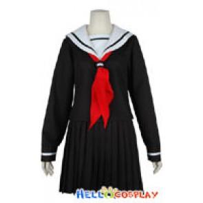 Hell Girl Ai Enma Cosplay Costume School Uniform