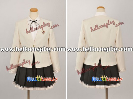 Kimi ga Nozomu Eien Cosplay Costume School Girl Uniform