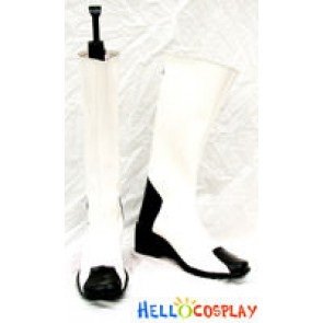 Z.A.F.T Uniform White Boots From Gundam Seed