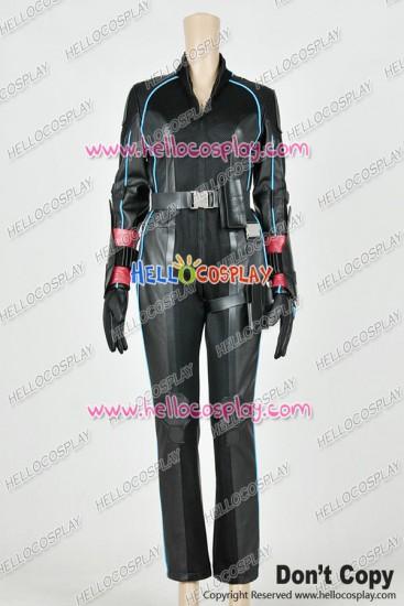 Avengers: Age Of Ultron Natasha Romanoff Black Widow Cosplay Costume Jumpsuit