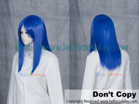 Deep Blue 50cm Cosplay Straight Wig