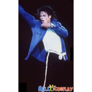 Michael Jackson Performance Blue Shirt