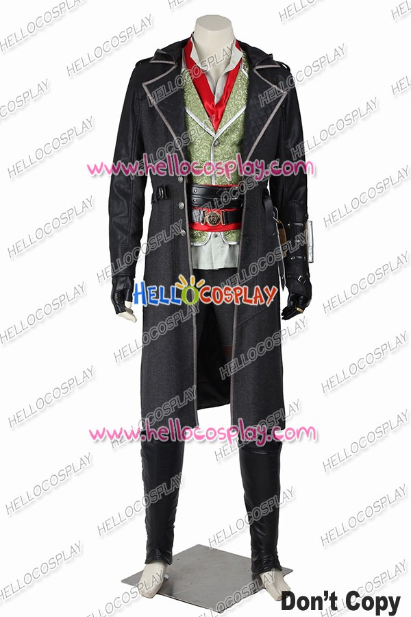 Assassin S Creed Syndicate Jacob Frye Cosplay Costume Uniform