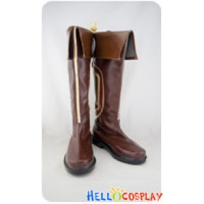 League Of Legends Cosplay Garen Brown Boots