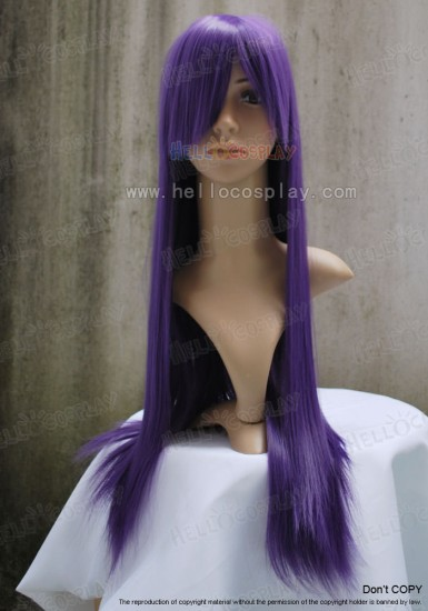 T2404 Purple Medium Wig