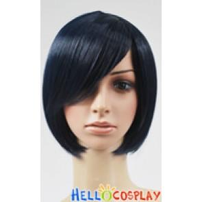 Dark Blue BoBo Cosplay Short Wig