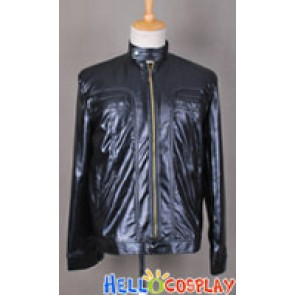 Ghosts of Girlfriends Past Connor Mead Jacket Black Leather