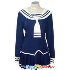 Fruits Basket Tohru Honda Cosplay Costume Navy Blue