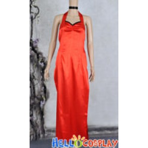 Resident Evil 5 Cosplay Ada Wong Costume Dress