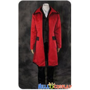 Black Butler Cosplay Grell Sutcliff Brown Vest Uniform Costume