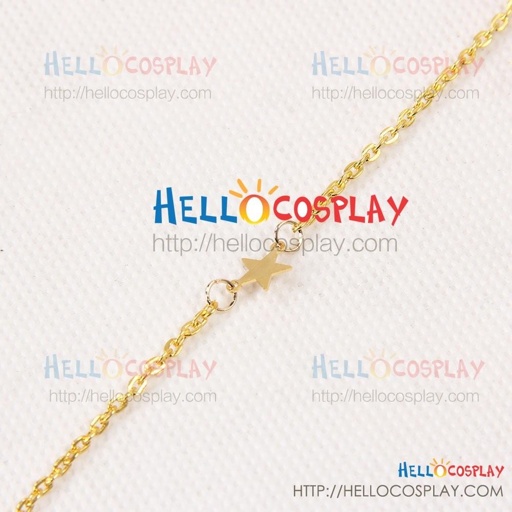 Final Fantasy XV Cosplay Lunafreya Nox Fleuret Necklace Prop B Ver