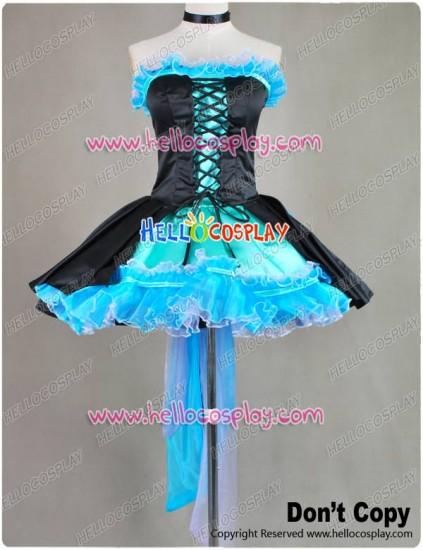Vocaloid Kiss Me Hatsune Miku Dress Cosplay Costume
