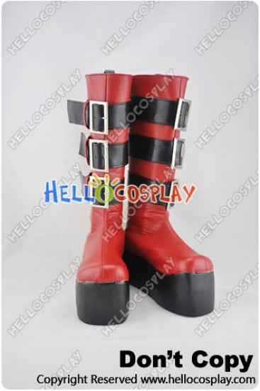 Togainu No Chi Cosplay Shoes Rin Boots