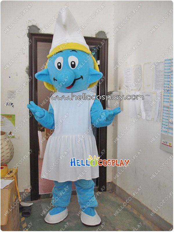 The Smurfs Smurfette Mascot Costume Adult Mascots