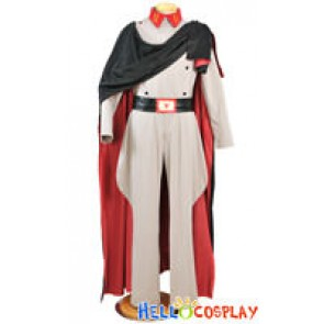 Space Battleship Yamato Cosplay Costume Abelt Dessler Uniform
