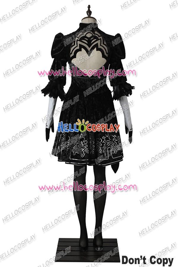 ... Nier Automata 2B Cosplay Costume Uniform ...