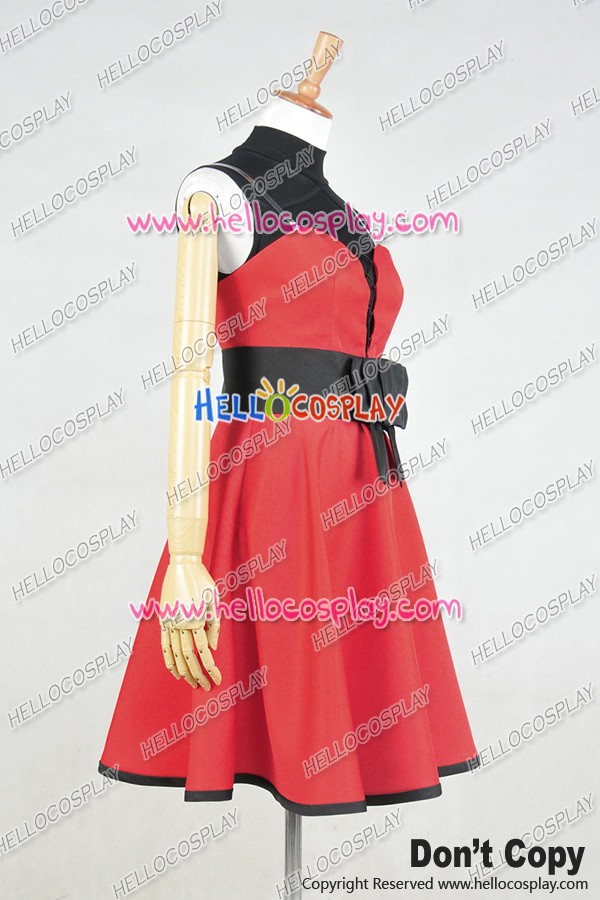 Rwby Cosplay Ruby Rose Little Red Riding Hood Dress Costume