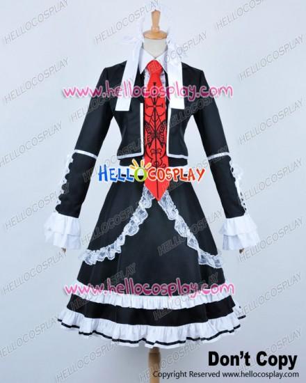 Danganronpa Dangan Ronpa Cosplay Celestia Ludenberg Costume Uniform Dress