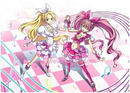 Suite PreCure Cospay Cure Rhythm Costume Dress