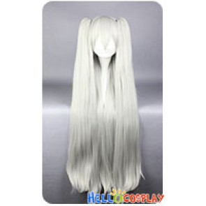 Kantai Collection Amatsukaze Cosplay Wig White