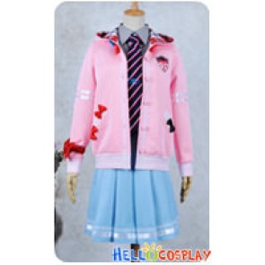 Vocaloid 2 Project DIVA F Cosplay Miku Costume School Uniform