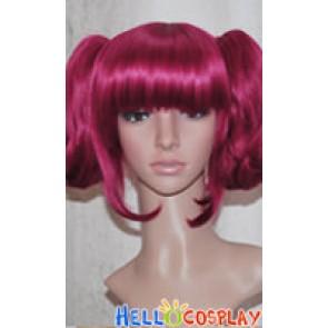 Black Butler Kuroshitsuji Maylene Wine Red Cosplay Wig