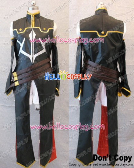 Code Geass Cosplay R2 C.C Floral Leather Uniform Costume Leg Covers Ver