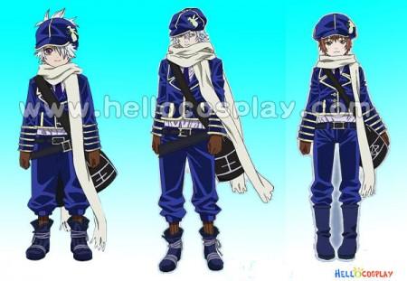 Tegami Bachi Post Man Cosplay Uniform