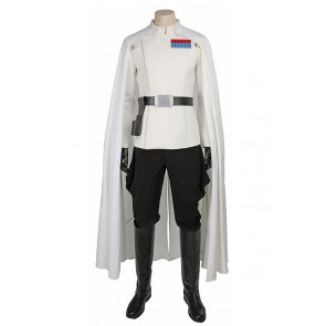 Rogue One A Star Wars Story Orson Krennic Cosplay Costume Uniform