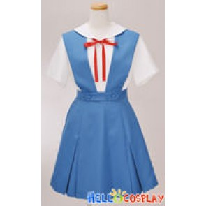 The Neon Genesis Evangelion Cosplay Rei Ayanami Uniform
