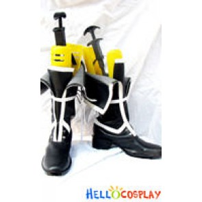 GUNJI Cosplay Boots From Togainu No Chi