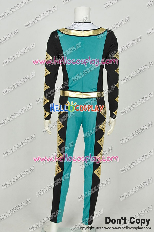 Kyōryū Sentai Zyuranger Cosplay Dragonranger Dragon Ranger Burai Jumpsuit  Costume
