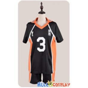 Haikyū Cosplay Volleyball Juvenile The 3rd Ver Sports Uniform Costume