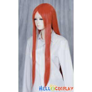 Red Brown Medium Cosplay Straight Wig