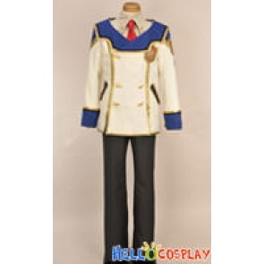 Chrome Shelled Regios Military Arts Boy Cosplay Uniform